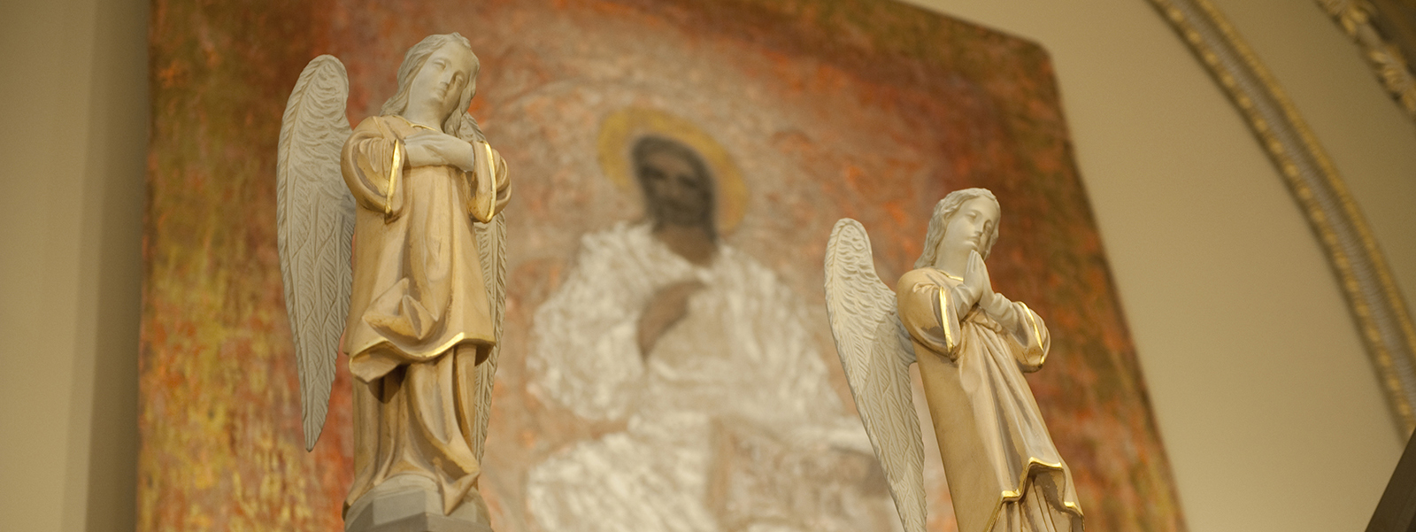 Angels in Christ King Chapel